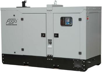 Agregat prądotwórczy fogo FI w obudowie wycisznej