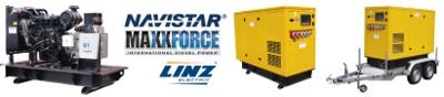 Agregaty prądotwórcze - silnik: Navistar Maxxforce