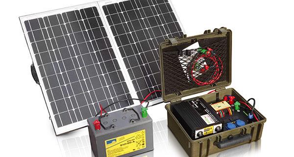 Przenośna mini elektrownia słoneczna  SOLAR CASE