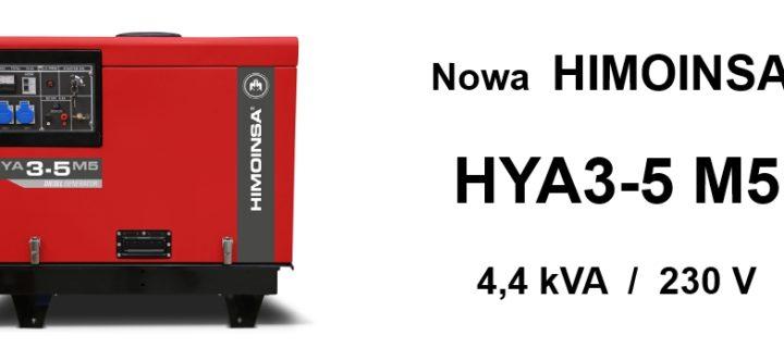 Nowy agregat HIMOINSA HYA3-5 M5