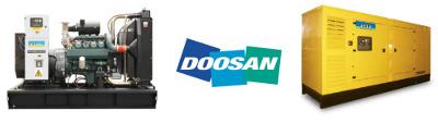 Agregaty prądotwórcze Aksa z silnikiem DOOSAN