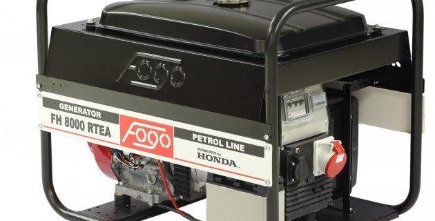 Agregat prądotwórczy FOGO z automatyką i SZR – nowa odsłona agregatów z silnikiem HONDA