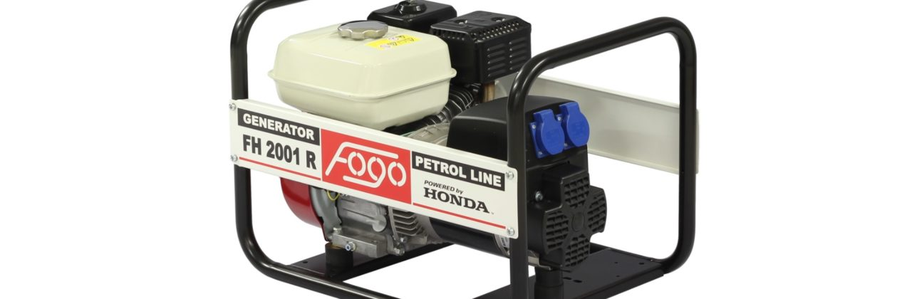 Promocja na agregaty prądotwórcze FOGO FH2001R / FH2001ER