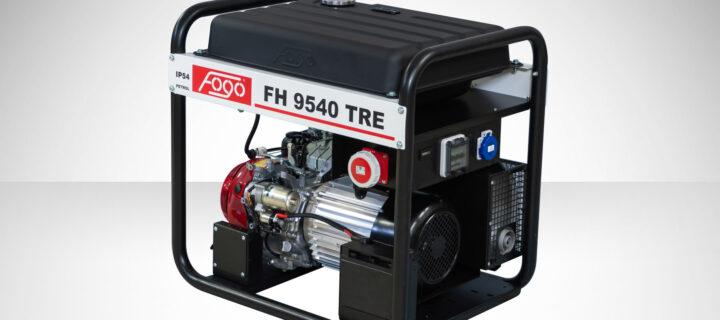 Agregat trójfazowy FOGO FH 9540 TRE – 8,1kVA – IP54